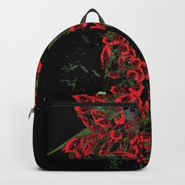 Rose skull girl Backpack