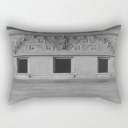 Model of Palace at Mitla, Oaxaca, Mexico  Rectangular Pillow