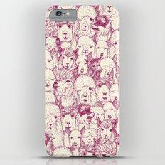 just alpacas cherry pearl Slim Case iPhone 6s Plus