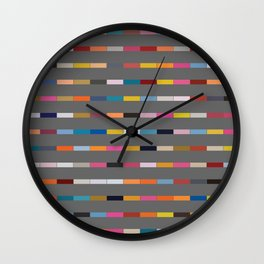 Gaunt Grey Wall Clock