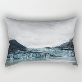 Blue Glacier Ice Rectangular Pillow
