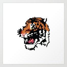 Low Resolution Art Print