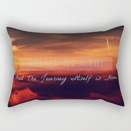 Sea of Fire Rectangular Pillow