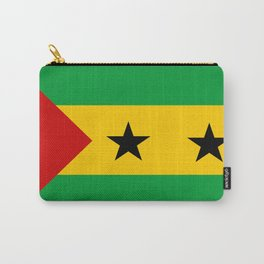 Sao Tome and Principe country flag Carry-All Pouch
