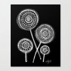 White Flower 21 Canvas Print