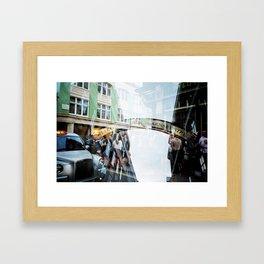 Carnaby street Framed Art Print