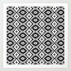 Black And White Mix Art Print
