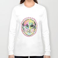 larry Long Sleeve T-shirts featuring Larry David by Butt Ugly Co