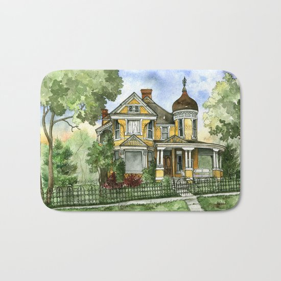 Victorian in The Avenues Bath Mat