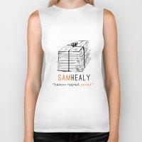 matty healy Biker Tanks featuring Healy | Lesbian Request Denied | OITNB by Sandi Panda