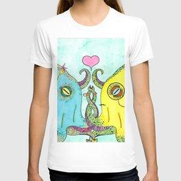 Octopus Wedding T-shirt