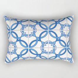 Travel to Lisbon Rectangular Pillow