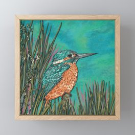 Kingfisher Framed Mini Art Print