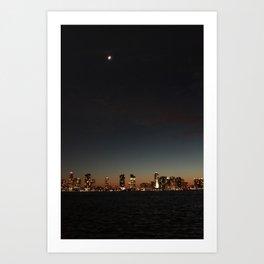 Hudson River View Art Print