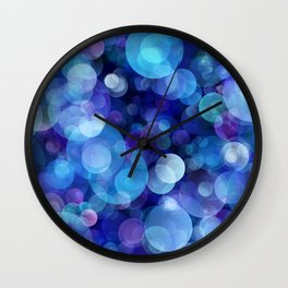 Bubbles005_by_JAMFoto Wall Clock
