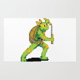Pixelated Teenage Mutant Ninja Turtles (TMNT) - Michaelangelo Rug