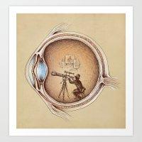 medical Art Prints featuring Extraordinary Observer by Enkel Dika