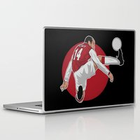 arsenal Laptop & iPad Skins featuring Thierry Henry by siddick49