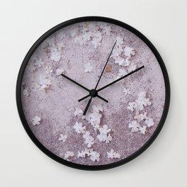 Stars at My Feet #2 Wall Clock
