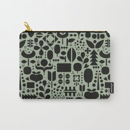Organic motif pattern Carry-All Pouch