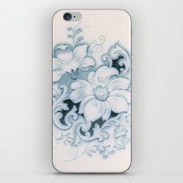 Vintage Flower Flow iPhone Skin