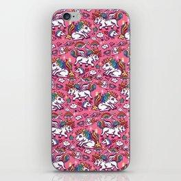 Baby unicorns iPhone Skin