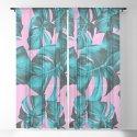 Monstera Leaves Summer Vibes Pattern #1 #tropical #decor #art #society6 by anitabellajantz