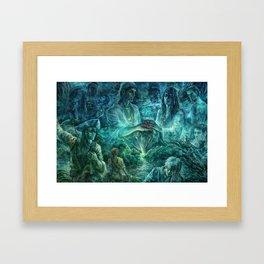 Keeper of your heart Framed Art Print