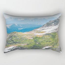 Alpine Mosses Rectangular Pillow