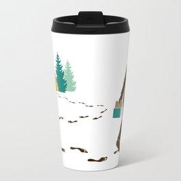 A Hairy Camp Robber Travel Mug