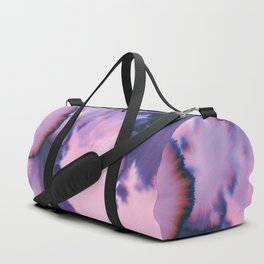 water color wave II COLLAB DYLA Duffle Bag