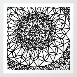 Doodle 12 Art Print