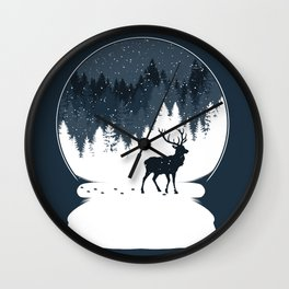Boule à Neige Wall Clock