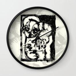 Lonesome Saint Wall Clock