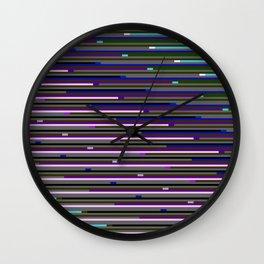 Static XXXIX Wall Clock