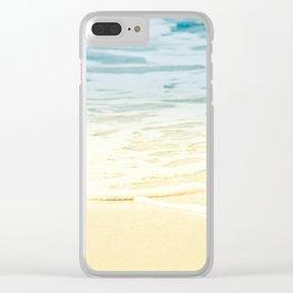 Kapalua Beach dream colours sparkling golden sand seafoam Maui Hawaii Clear iPhone Case