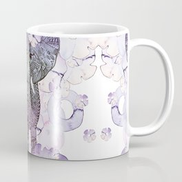 FLOWER SHOWER ELEPHANT Coffee Mug