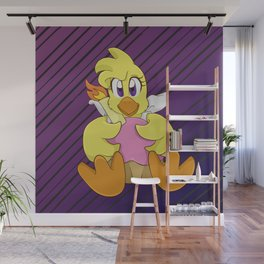 Chica Plushie Wall Mural