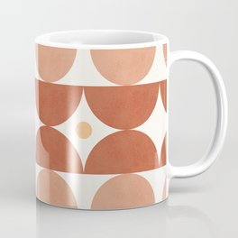 Abstraction_BOHO_SUN_MOUNTAINS_SHAPE_ART_Minimalism_007P Coffee Mug