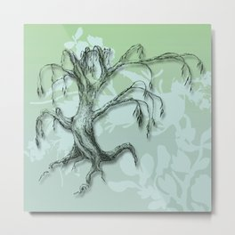 Natures Breath Metal Print