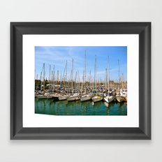 Set Sail Framed Art Print