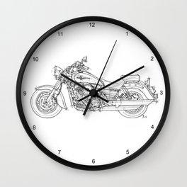 KAWASAKI VULCAN 1600 CLASSIC 2006, Christmas gift!!! Wall Clock