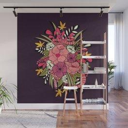 Jungle Bouquet 001 Wall Mural