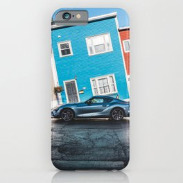 2020 supra on steep hill iPhone Case
