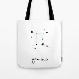 Gemini - Gémeaux Tote Bag