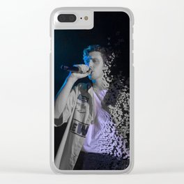 blue boy (dispersed) Clear iPhone Case