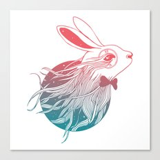 Dreaming Down the Rabbit Hole Canvas Print