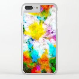 Florescence Clear iPhone Case