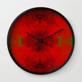 Spongey Motiff Wall Clock