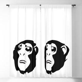 Sad Monkey Blackout Curtain